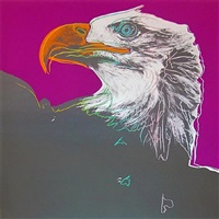 bald eagle, [iib.296] by andy warhol